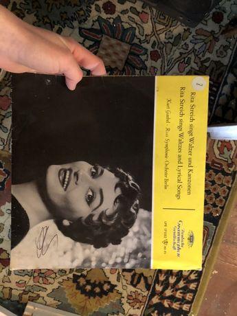 Płyta Winylowa Rita Streich