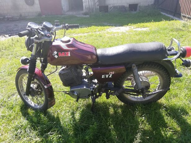 MZ 250 etz 1984 rok