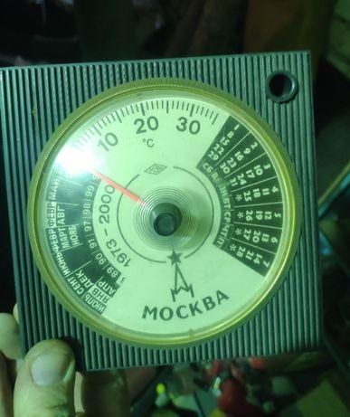 Настольный календарь термометр Москва СССР 1973-2000