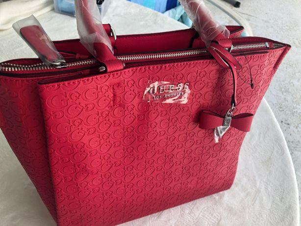 GUESS oryginalna torebka czerwona