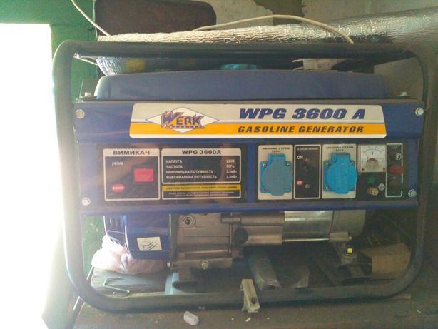 Бензогенератор WERK WPG 3600A