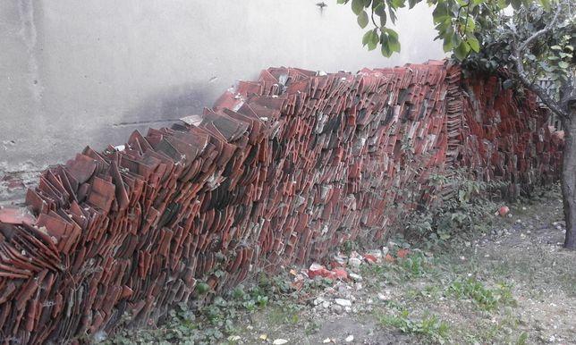 Gruz (dachówka z rozbiórki ceramiczna ) na droge