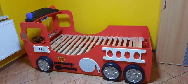 """łóżko dla dziecka """"straż pożarna"""""""