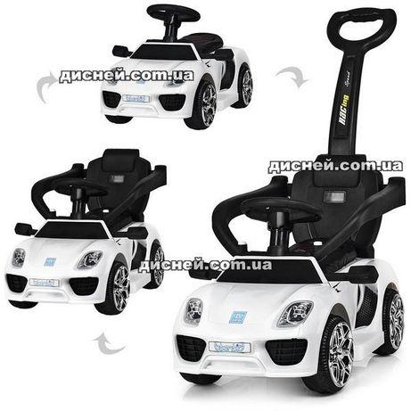 Детский электромобиль-толокар 3592 белый, Дитячий електромобiль