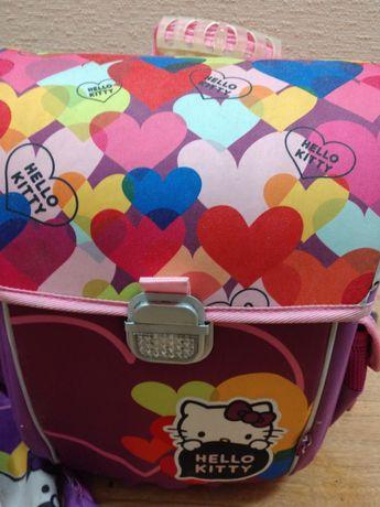 Рюкзак ранец Kite ортопедичекий каркасный, сумка для обуви