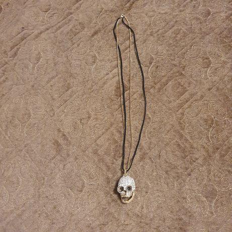 Бижутерия , череп на цепочке , украшение