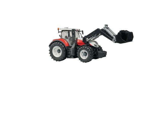 BRUDER 03181 Traktor Steyr 6300 Terrus CVT z ładowarką czołową ZABAWKA