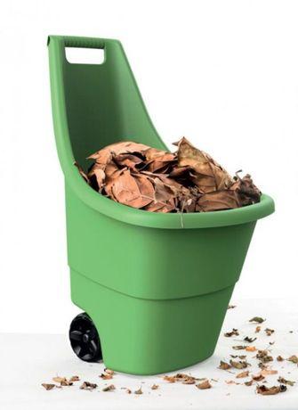 Ogrodowy WÓZEK PLASTIKOWY Easy Go BREEZE 50L - Zielony