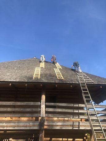 Робимо дахи з гонт.