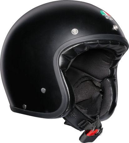 Kask Motocyklowy AGV X70 Black Matt Otwarty