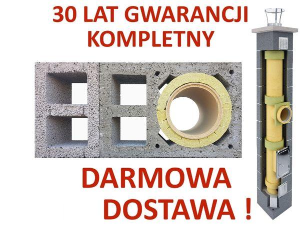 KOMPLETNY komin ceramiczny system kominowy KW2+W2 fi 200 7m najtaniej