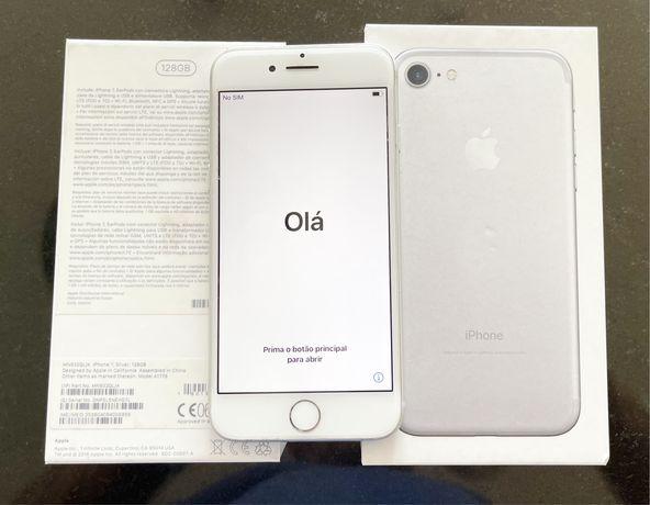 Iphone 7 - 128Gb como novo sem traços de uso - micro não funciona