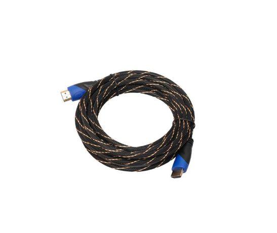 Kabel Przewód Plecionka HDMI - HDM I 3m 3D - 4K FULL HD