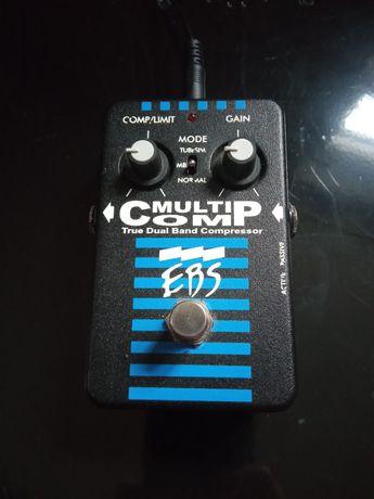 EBS Multicomp Compressor педаль ефект компресор для баса / гітари