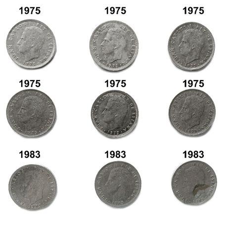 Moeda 25 pesetas - Juan Carlos I - 1975 | 1983