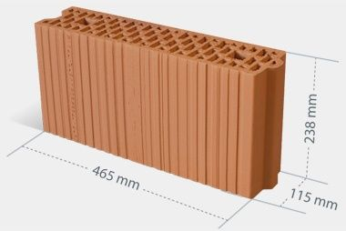 Pustak Mini-Max 11,5 P+W, Minimax 11.5 Cerpol Kozłowice Porotherm