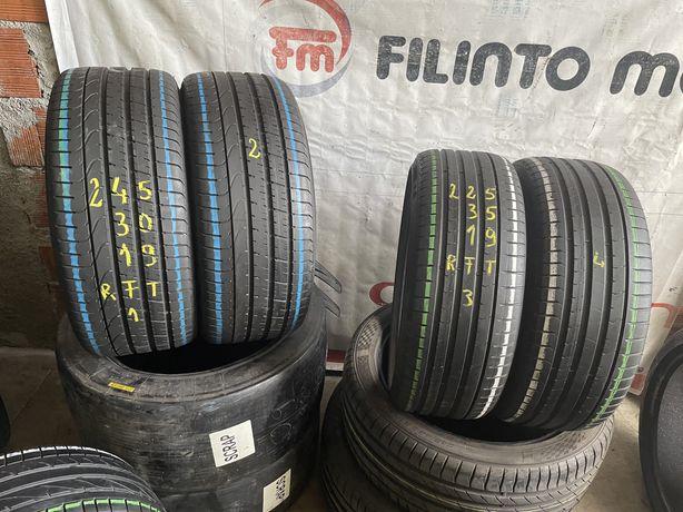 Pneus RFT 225/35/20 + 255/30/20 Pirelli impecaveis