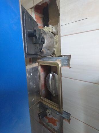Frezowanie diamentowe kominów SCHIEDEL 180mm Systemy kominowe