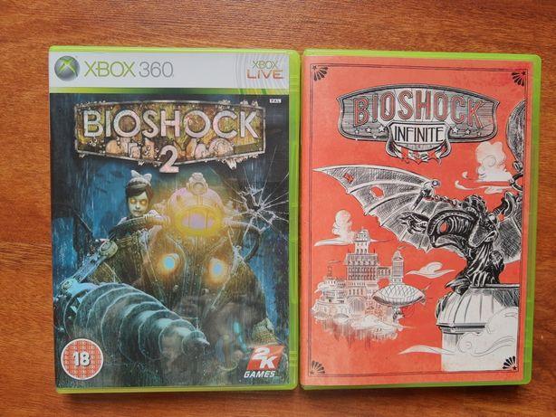BioShock 2 i Infinite xbox 360