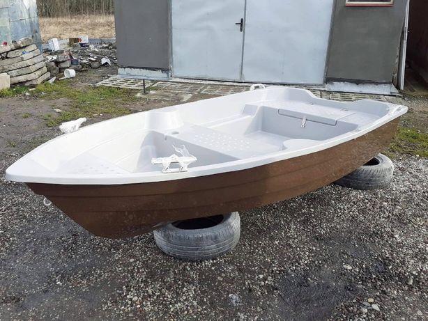 Łódka wędkarska 3m dwupłaszczowa, solidna