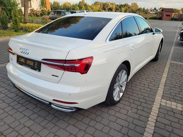 Auto do Ślubu - wesele z kierowcą. Piękne białe Audi limuzyna