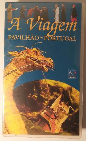 Filme VHS Projectado do Pavilhão de Portugal da EXPO 98