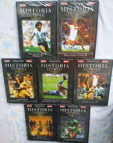 Historia Futbolu Kolekcja 7 płyt na DVD Folia Nowe