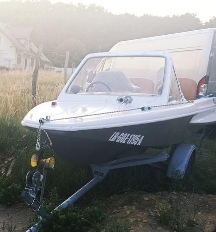 Łódź łódka motorówka/wędkarska po kosztach remontu