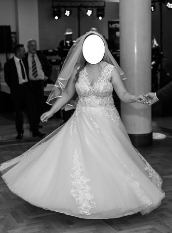 Suknia ślubna model 2020 r. rozmiar 40 - 42