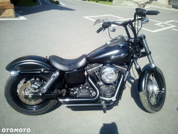 Harley-Davidson Dyna Harley Davidson Dyna Street Bob fat boy