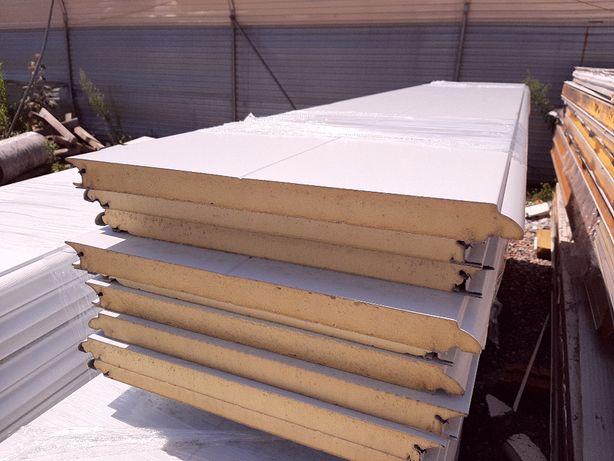 izolacja ścian i dachów, płyta warstwowa PIR gr. 40mm