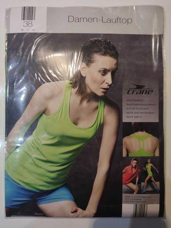 Koszulka na fitness jogę top sportowy bokserka rozmiar M