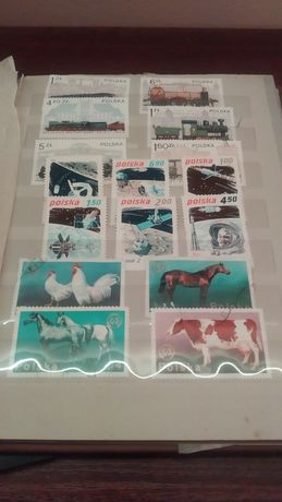 Kolekcja znaczków pocztowych
