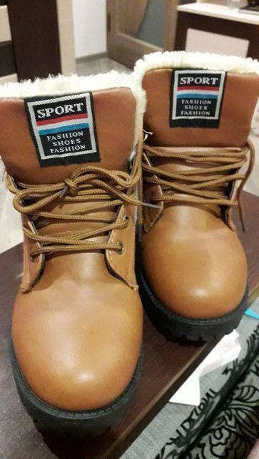Ботинки, боты, полусапоги, полусапожки, зимние, зима