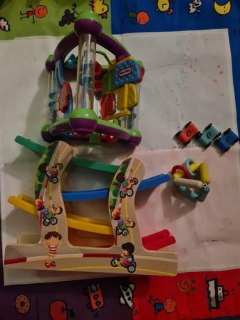 Little Tikes zabawka interaktywna samochodziki tor