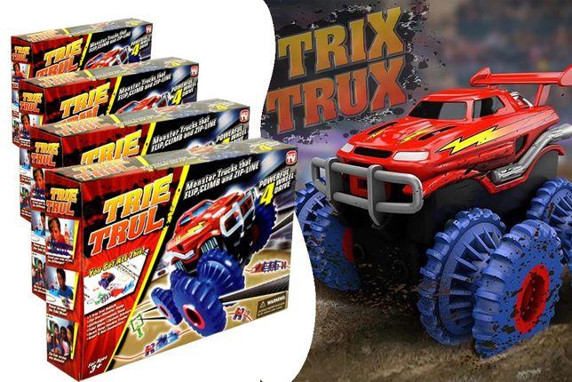 Конструктор Большой набор Trix Trux канатный трек 2 машинки Монстр тра