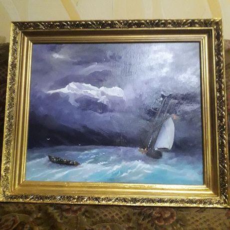 Продаётся картина. Айвазовский Бурное море.