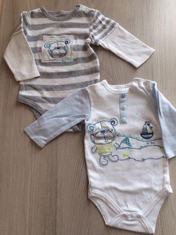 Ubranka dziecięce, spodnie, dres, body, bluzka, kapcie 68cm