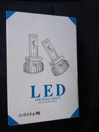 LED лампа h7 2 шт