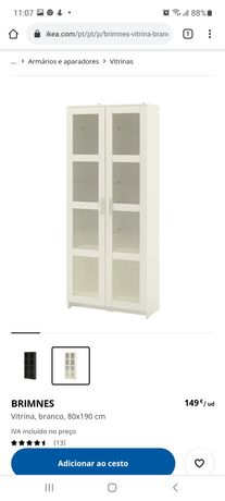 BRIMNES // IKEA // Vitrine