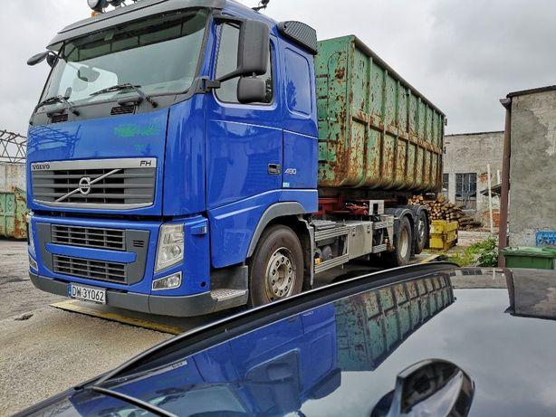 Volvo FH13 480KM EURO 5, hakowiec, wywrotka