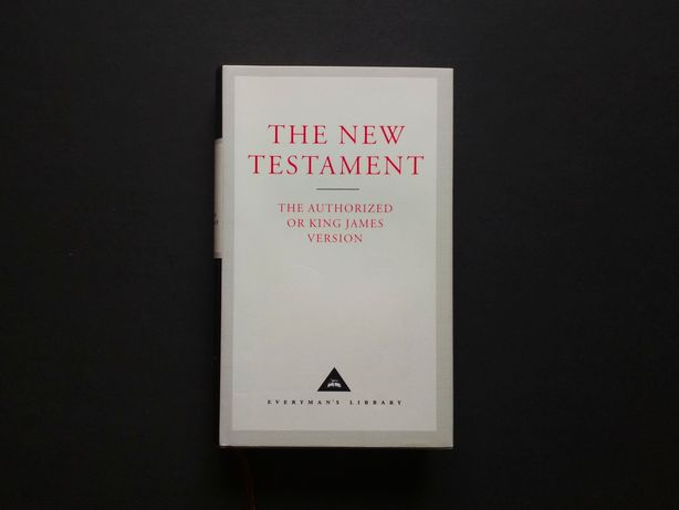 The New Testament, King James Version (po angielsku)