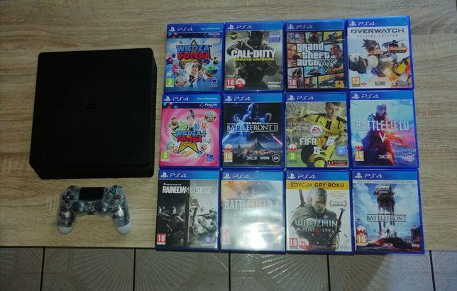 Konsola PS4 plus gry