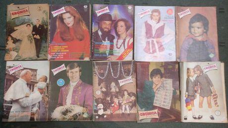 Lote 41 revistas antigas Crónica Feminina