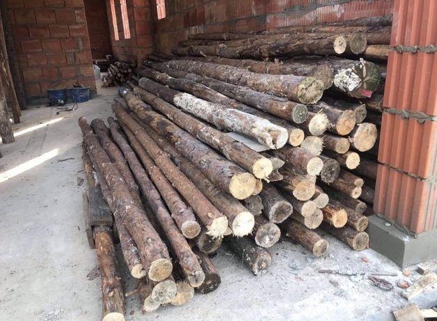 Stemple budowlane drewniane podpory budowlane  200 -285m 100 - 3m 7 -