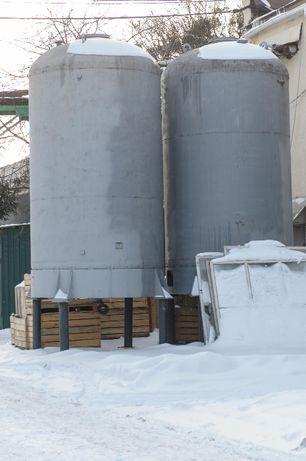 емкость бочка резервуар цистерна 20 40 м куб эмаль верт. пищевая