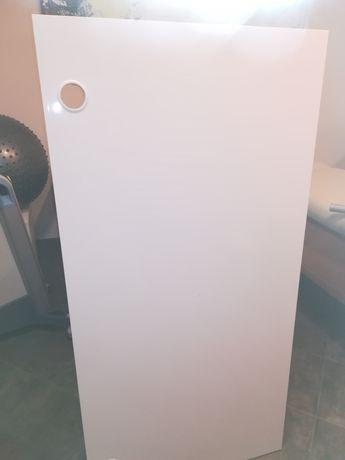 Biurko białe wysoki połysk
