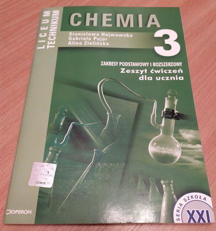 Szkoła XXI. Liceum / Technkum. Część 3. Chemia. Zeszyt ćwiczeń. Operon