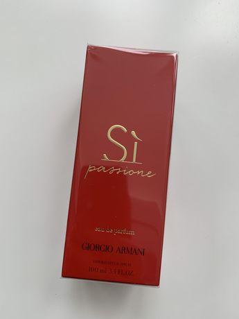 SI passione Giorgio Armani 100 ml edp Оригинал! парфюмированная вода