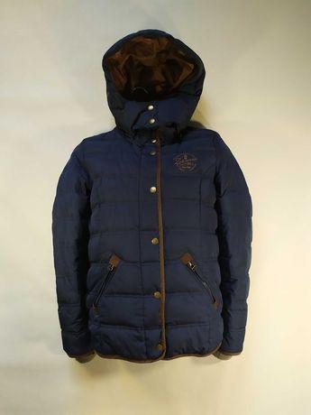 Зимова куртка пуховик на пуху zabaione s